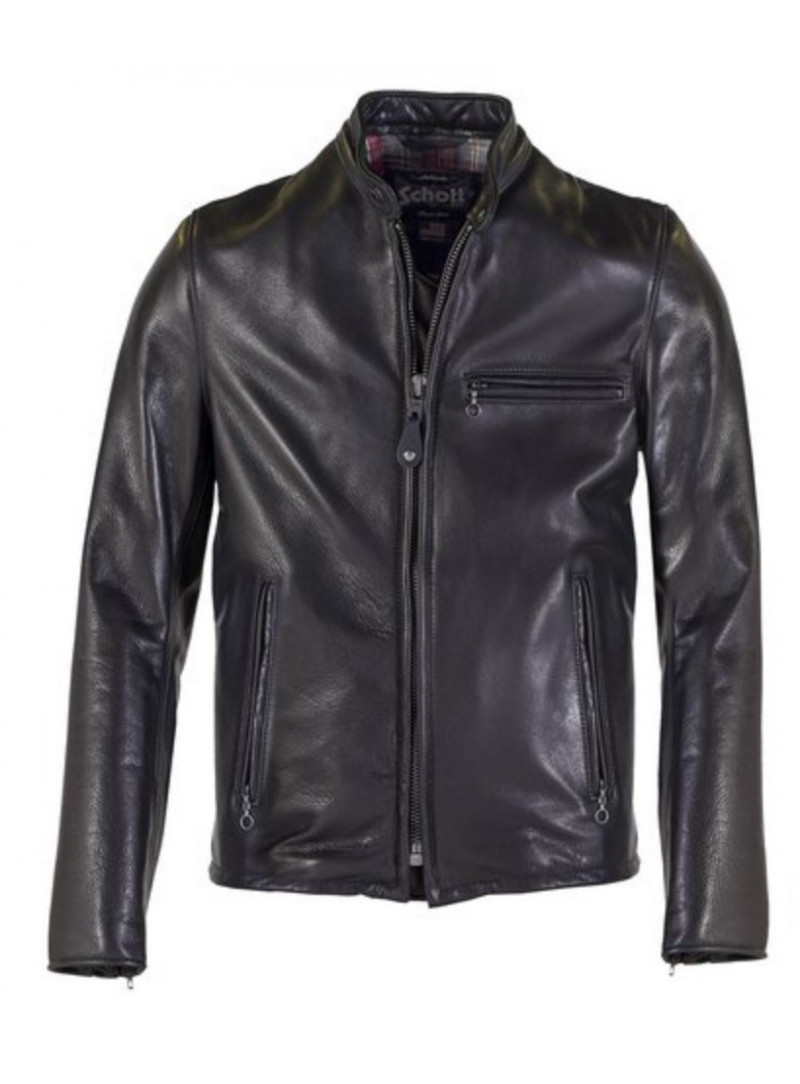 8fd8ba6077ba Riferimento Café Leather Jacket