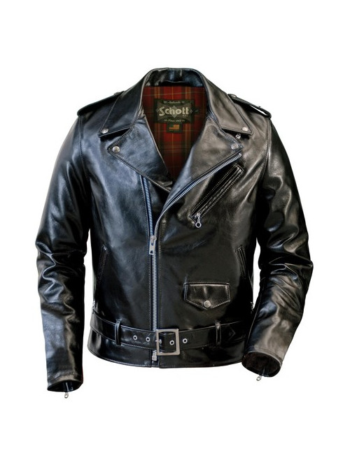 Lightweight Fitted Cowhide Motorcycle Jacket